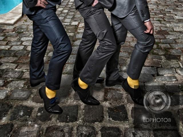 Les chaussettes jaunes