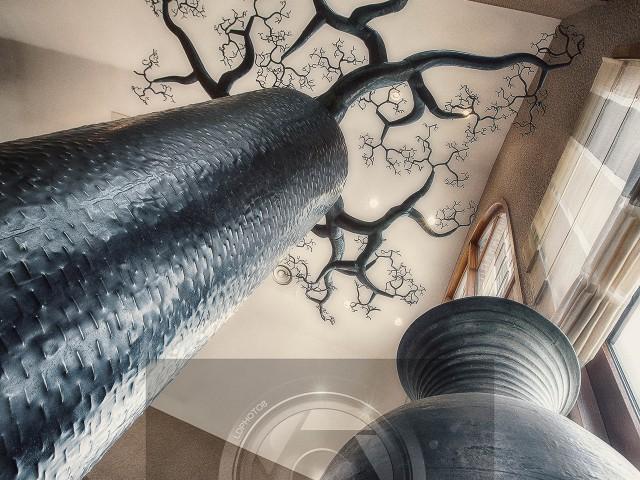 Baobab métallique